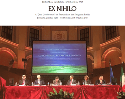 "foto de European Academy of Religion 2017 «EX NIHILO. A ""Zero Conference"" on Research in the Religious Fields»"