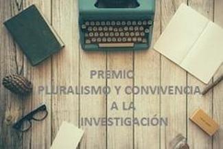 imagen del destacado Convocatoria del Premio Pluralismo y Convivencia a la Investigación 2018